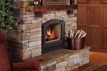 wood burning fire places